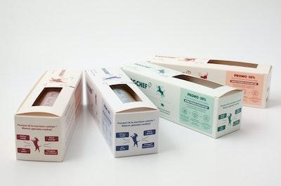 Box of 20 mixed recipe trays (400gr)