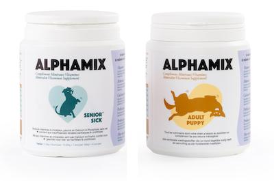 Doos met 6 AlphaMix & 6 AlphaMix Senior/Sick